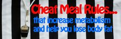 cheat meal rules