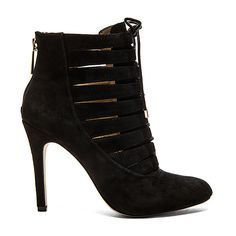 BCBGeneration Belini Bootie Shoes (10.705 RUB) ❤ liked on Polyvore featuring shoes, boots, ankle booties, booties, cut out booties, short boots, high heel bootie, ankle boots and lace up ankle boots