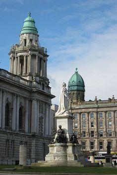 Belfast City Centre, Ireland. Study at Queen's University Belfast.                                                                                                                                                      More