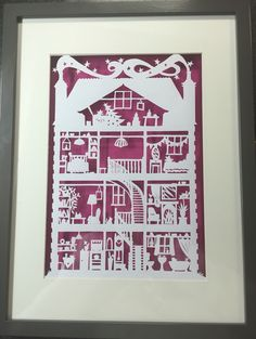 Victorian house - using a Paper Panda template