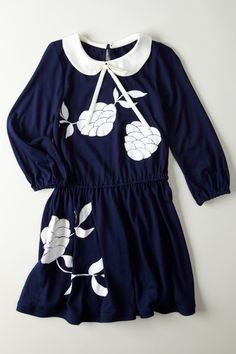 Raised Print Long Sleeve Jersey Dress  by Beetlejuice London on @HauteLook