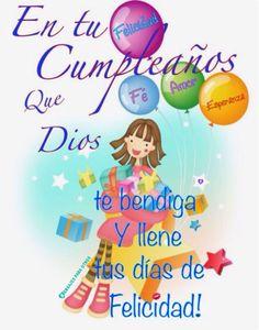 Birthday Ecards for Females Spanish Birthday Wishes, Happy Birthday Ecard, Birthday Quotes For Her, Happy Birthday Wishes Cards, Happy Birthday Pictures, Birthday Cards, Happy Birthday Princess, Funny Happy, Facebook