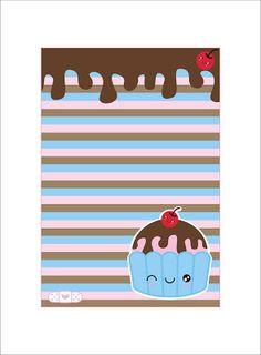 La Casita de Caro: kits de Escritorio Kawaii Kawaii, Unicorn Stationary, Free Printable Stationery, Unicorn Printables, Baby Shower Niño, Paper Crafts, Diy Crafts, Candyland, Lettering