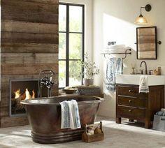 Rustic bathroom ideas by 44 rustic barn bathroom design ideas digsdigs. Rustic Bathroom Designs, Rustic Bathroom Decor, Rustic Bathrooms, Modern Bathroom Design, Bathroom Interior Design, Industrial Bathroom, Rustic Industrial, Rustic Modern, Rustic Shower