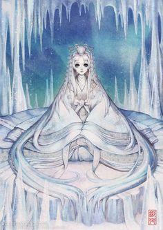 한복x동화 | 눈의 여왕 | 흑요석