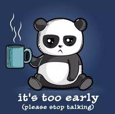 too early panda Niedlicher Panda, Panda Art, Cute Cartoon Drawings, Cute Animal Drawings, Panda Wallpapers, Cute Cartoon Wallpapers, Cute Animal Quotes, Cute Animals, Panda Drawing