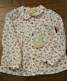 Zara baby girl floral blouse shirt 18 - 24 months NWT in Clothing, Shoes & Accessories, Baby & Toddler Clothing, Girls' Clothing (Newborn-5T) | eBay
