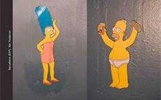 Homer simpson and marge simpson toilet signs Bathroom Doors, Bathroom Humor, Bathroom Signs, Restroom Signs, Toilet Symbol, Funny Toilet Signs, Early Pregnancy Signs, Beach Signs, Cool Inventions