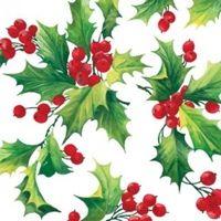 2238 Servilleta decorada Navidad