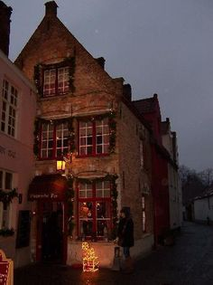 De Vlaamsche Pot - Bruges, Belgium - I spent my 21st birthday at this restaurant and had some of the best food I've ever had. ORDER THE BEEF STEW.