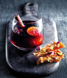 Mulled Wine Whiskey With Sea Salt Pistachio Caramel Brittle | Drinks | MiNDFOOD