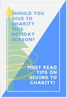 ✅ Giving is the reason for the season. We have all heard that before but with so many choices and places to give... how do you know what to pick? That's why I wrote this handy guide... to help make giving easier and more meaningful. Happy Holidays!!!
