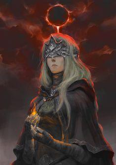 Fire Keeper by Drawslave on DeviantArt Dark Souls 3, Arte Dark Souls, Demon's Souls, Dark Fantasy Art, Dark Art, Fantasy Character Design, Character Art, Character Concept, Concept Art