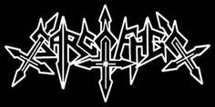 Sarcófago band logo. Brazilian  black thrash metal
