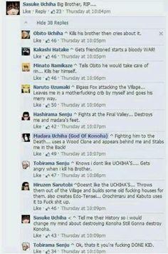 Naruto FB. Hahaha :D tobirama is not amused #naruto #funny