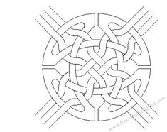 Celtic mosaic coloring pages ~ Printable Roman Mosaic Coloring Pages | mosaics ...