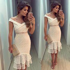 off the shoulder white prom dress kleider off the shoulder white prom dress Frilly Dresses, Elegant Dresses, Pretty Dresses, Beautiful Dresses, Casual Dresses, Short Dresses, Fashion Dresses, Prom Dresses, Formal Dresses