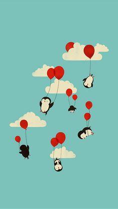 http://theiphonewalls.com/wp-content/uploads/2013/08/Flying-Penguins.jpg