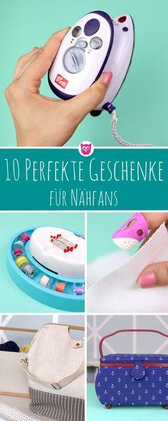 10 ultimative Geschenke für Nähfans - tolle Gadgets, die Du kennen müsst und perfekt verschenken kannst oder unbedingt selber haben möchtest, wenn Du nähst.