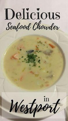 Seafood chowder in W