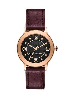 Marc Jacobs Riley Three-Hand Watch, 28mm