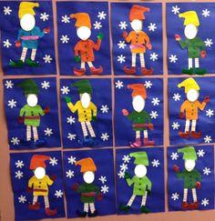 Pour finir les activités de Noël, mes élèves étaient ravis de se déguiser en lutin, ils aiment beaucoup travailler avec leur photo, ils se...