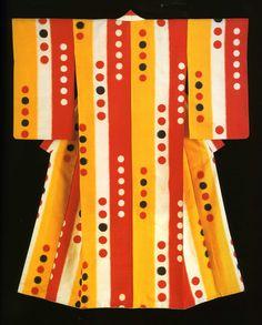 Woman's kimono, 1920s-30's, from the Montgomery Collection of Japanese Folk Art via RICHARD NATHANSON