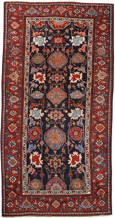 Bidjar rug Northwest Persia size approximately 3ft. x 5ft. 10in.