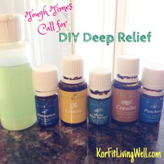 DIY Deep Relief Roll-on Recipe using Young Living Essential Oils