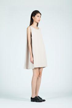 517e43ed4c1 KAAREM - tyh.d Boatneck Open Back Dress in Cream
