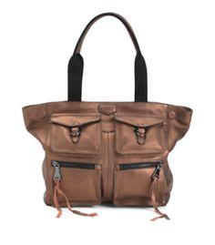 2aff1dbc20 AIMEE KESTENBERG Women s Leather Extra Large Tote Handbag Free Shipping NWT