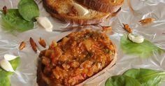 Dobrou chuť: Pikantní směs na topinky Salmon Burgers, Baked Potato, Toast, Menu, Potatoes, Chicken, Baking, Ethnic Recipes, Food