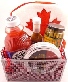 Great Giveaway for a Jack and Jill Prize. They may need this the morning after. Diy Gift Baskets, Raffle Baskets, Ceasar Drink, Stag And Doe Games, Fair Theme, Raffle Prizes, Baby On A Budget, Jack And Jill, Holiday Parties