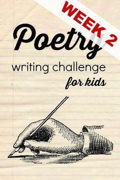 Poetry Writing Challenge {Week 2}