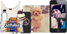 """Facetimin With Manny ~Dani"" by kaniyahb ❤ liked on Polyvore"
