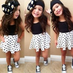 stylish kids in beautiful clothes Little Girl Outfits, Cute Outfits For Kids, Little Girl Fashion, Cute Little Girls, Toddler Fashion, Toddler Outfits, Little Fashionista, Look Girl, Girl Style