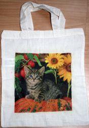 Katze mit Sonnenblume  http://bastelzwerg.eu/themes/kategorie/detail.php?artikelid=1298&refertype=16