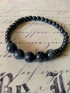 Gemstone Bracelet For Him Bead #Bracelet KikiJabri Jewels Men's Collection by KiKiJabriJewels, $15.00