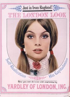 photos of the 60's | Buttercup Bungalow: Yardley Ads of the 60's and 70's