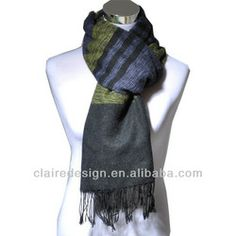 men's scarf/ made in china (Korean style) cotton 100% from Alibaba