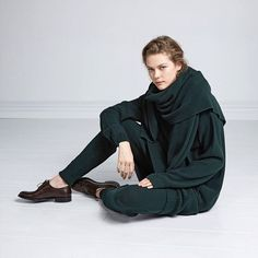 Very excited to introduce our knitwear range in ethical organic cotton. Now online in bottle green natural & black  http://ift.tt/1aU0cEG #kowtow #kowtowclothing #organic #organiccotton #ethicalcotton #newseason #kowtowknitwear #thestorywetell by kowtowclothing