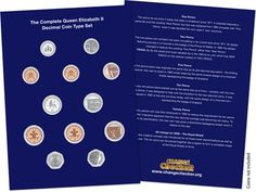 Complete QEII Decimal Coin Type Collector Page #ChangeChecker