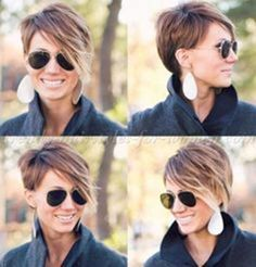 13.Long Pixie Hairstyles with Bangs