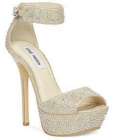 Steve Madden Shoes, Carriie Platform Sandals - Steve Madden - Shoes - Macy's