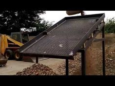 VIDEO 3 TEST -TRIAL RUN NEW DEMO SOIL WASTE SCREENER UPRATED MK3 MODEL - YouTube