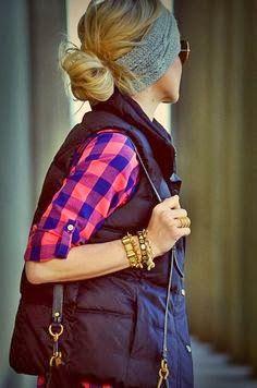 Casual Style With Sleeveless Jacket