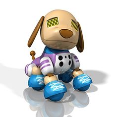 """Now you can have your very own """"just for me"""" puppy! Kicks is the friendly, sporty, and outgoing Zuppy made just for you. His large puppy dog eyes light up and express exactly how he's feeling. You can share secrets, play interactive games and watch as Kicks shares exclusive tricks with only you! The more you nurture and play with him, the happier he'll be and the more he'll share. Reward him with a good tummy scratch to let him know just how much you care. Kicks is poseable, but do..."""