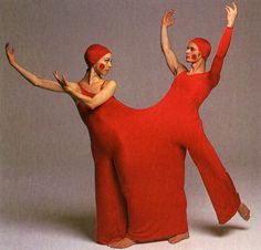 rudi gernreich, costumes for inscape, a ballet by bella lewitsky, 1976 (from the rudi gernreich book) Peggy Moffitt, College Books, Mode Costume, Geek Costume, Another Love, Ballet Costumes, Fashion Art, Fashion Design, Unisex Fashion