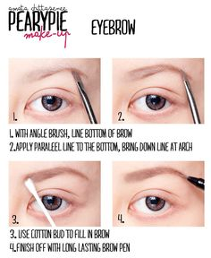 Pearypie's Tips about eyebrows! @Shannon Huff  handy tip, considering....