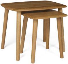 Malmo Oak Nest of Tables